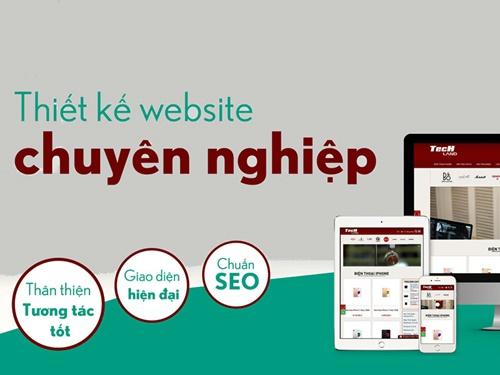 Thiết kế website chuyên nghiệp