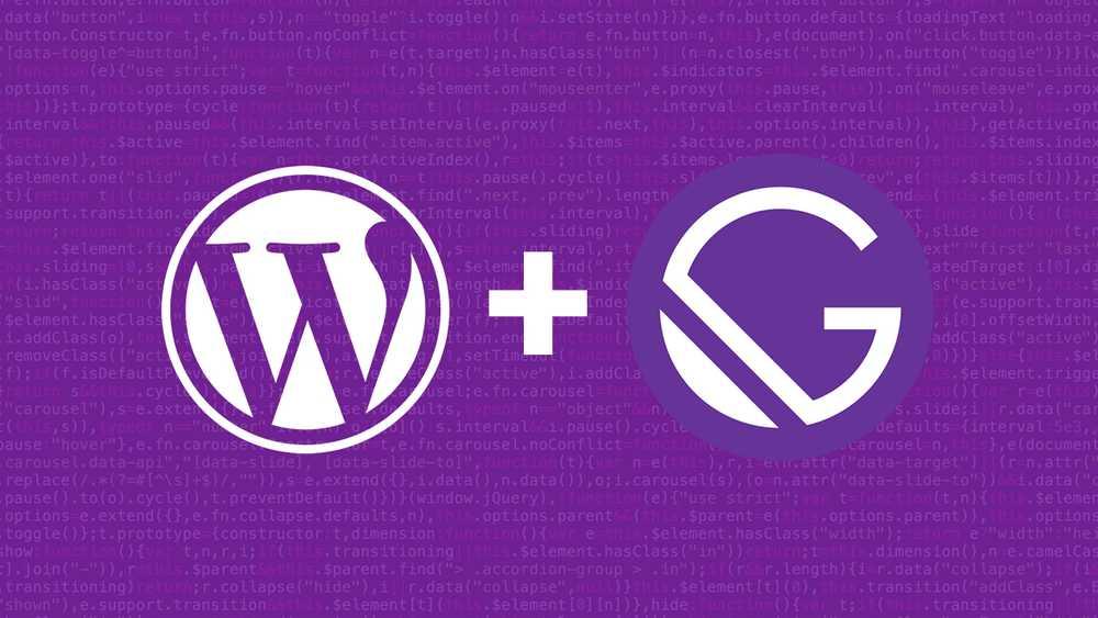 Thiết kế web JAMstack Sử dụng Gatsby và WordPress